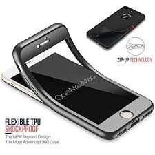 360° Full Body Silicone with Tempered Glass Screen Protector