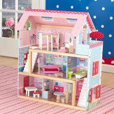 Music LED Light Miniature Doll House Provence Dollhouse DIY Kit