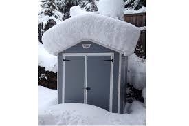 6x5 outdoor garden storage shed keter