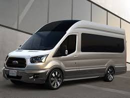 The Ford Transit Is Just One Of Vans That Can Be Converted Into Almost Anything