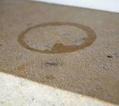 how to remove water stains form tile cleaning