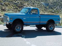 1972 Chevy 4X4 Left Side View | Products I Love | Pinterest | Chevy ...