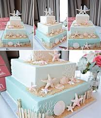 Wedding Cake Cakes Beach Scene Elegant Ideas Pictures To