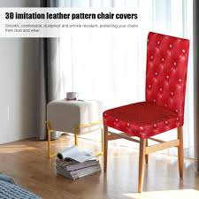 US $8.99 35% OFF|3D Printing Chair Covers Dining Chair Seat Covers  Dustproof Ceremony Chair Slipcovers Protectors Wedding Events Decoration-in  Chair ... Summerhill Collection Velvet Plush Ding Chair Covers 3d Pattern Spandex Stretch Short Seat Slipcovers Pique Slipcover Trendy Slipcover Removable Cover Yisun Tile Good Looking Black Cushions For Room Chairs Chair Banquet Ding Covers Table Home Design Ideas How To Make Out Of Pillowcases Simplicity Interesting Leather Details About 2pcs Onepiece Pu Lace Waterproof E7t6