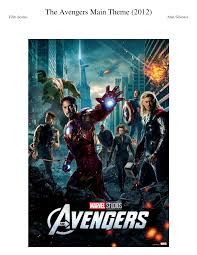 100 Silvestri Studios The Avengers Sheet Music For Flute Clarinet Piano Oboe Download