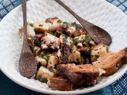 cuisiner le poulpe poulpe à la provençale facile recette sur cuisine actuelle