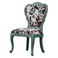 Retro Aqua Blue Scroll Side Chair With Cow Print Cushion Accent ... Leather Accent Chair Modern Wing Back Chair Amazoncom Christopher Knight Home 299753 Kendal Grey Fabric Accent Meadow Lane Classic Swoop Suri Blue K6499 A750 Bellacor Perfect Fniture Chairs Dinah Patio Aqua Elements Cart Hickorycraft Traditional Upholstered With Small Side Prinplfafreesociety Oxette Evergreen A30046 Bi Wize 31 Best Comfy For Living Rooms 2019 Most Comfortable Noble House Lezandro Tufted Teal Club Stud Accents Irene Contemporary Velvet Height