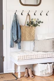 A Beautifully Bright Entryway With Cozy Cottage Feel