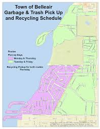 Waste Management Christmas Tree Pickup Schedule by Trash U0026 Recycling Collection Schedule Belleair Fl Official