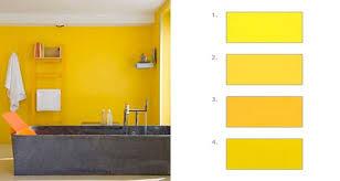 chambre jaune et gris comment associer la couleur jaune en déco d intérieur
