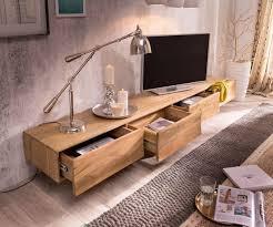delife tv board wyatt sheesham natur 220 cm 4 schubladen