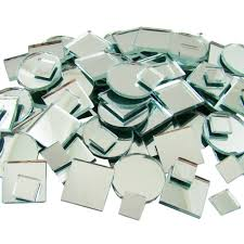 s mosaics 150 count plain mirror mosaic tile