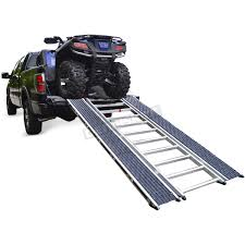 Caliber Ramp-Pro Universal ATV & Snow Ramp - 13526 Snowmobile ... Atv Loading Ramps And Still Pull A Small Trailer Youtube Black Widow Atv Carrier Rack System 2000 Lbs Capacity 72 X 14 Dual Arched Lb Trailer Load Atvs More Safely With Loading Ramps By Longrampscom Wching Into The Truck Arcticchatcom Arctic Cat Forum West Folding Hybrid Ramp Set 1400lb 7ft Yutrax Arch Xl Alinum Ramptx107 The Home Depot Steel For Pickup Trucks Trailers Extreme Max Dirt Bike Review 2018 Events Best List In Guide Reviews