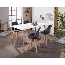 homexperts esszimmerstuhl kaja 2 stück sitzschale mit sitzkissen in kunstleder