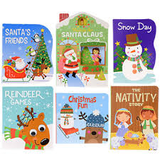 Bulk Christmas Board Books At DollarTree
