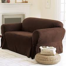 Sure Fit Scroll T Cushion Sofa Slipcover by Sure Fit Soft Suede Sofa Cover Walmart Com