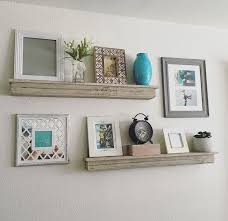 Love The Idea Of Including Shelves In Gallery Wall White Picture Frame Desugn Rectangular Floating