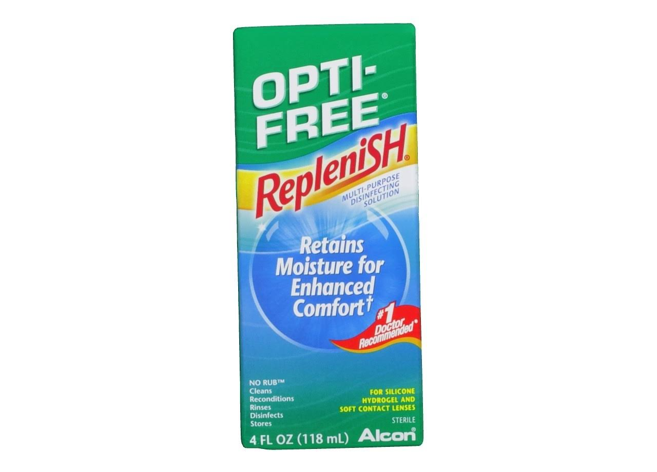 Alcon Opti-Free Replenish Sterile Enhanced Comfort Multi-Purpose Disinfecting Solution - 4oz