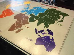 The Board Itself Is Made Out Of 4 Pieces 18x24 Plywood And Painted Gunship Grey Continents Are Thick Poster Which I Hand Cut