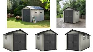 Keter Stronghold Shed Assembly by Resin Garden Storage Sheds Quality Plastic Sheds