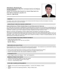 Exelent Resume Format For Ojt Hrm Students Image Collection