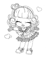 Monster High Coloring Pages Baby Design