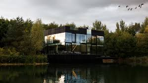 100 Glass Walled Houses Mecanoo Builds Villa In The Lake In The English