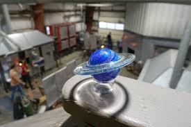 Glass Blown Pumpkins Seattle by Glass Eye Studio Glass Blowing Studio Tour Seattle Wa
