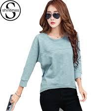 Casual T Shirt Women Long Sleeve Shirts 2017 Winter Female Korean Clothes Tshirt