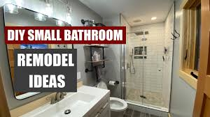 Redo Bathroom Ideas Small Bathroom Remodel Overview Ideas And Inspiration