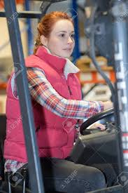 100 Female Truck Driver Female Fork Lift Truck Driver In Factory