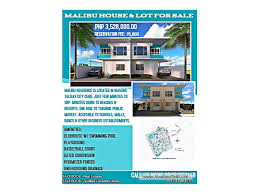 100 Malibu House For Sale MALIBU HOUSE LOT FOR SALE IN BIASONG TALISAY CITY NEAR SRP