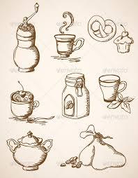Hand Drawn Vintage Coffee Icons
