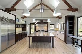 Light Hardwood Floors With Dark Cabinets Lighting Unique