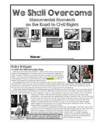 Civil Rights Movement Quiz Teaching Resources
