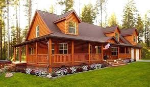 Gorgeous Rustic Cabin Manufactured Home Remodel Log Style
