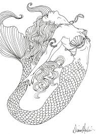 Medium Size Of Coloring Pagesdecorative Pages Draw Mermaids Hello Kitty Mermaid Download And