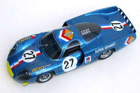 profil24 models alpine A220 Le Mans 1968 1 24 scale by Gilbert