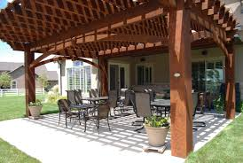 Diy Wood Patio Cover Kits by More Shade Plan Diy Solid Cedar Wood Cantilevered Pergola Western
