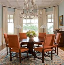 Newest Bay Window Curtains Ideas For Privacy And Beauty Dining Room Treatments On