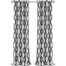 Dkny Mosaic Curtain Panels by Geometric Curtains U0026 Drapes You U0027ll Love Wayfair
