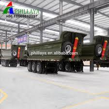 China 40 Ton 50 Ton Truk 3 As Sisi Tipper/belakang Dump Hidrolik ...