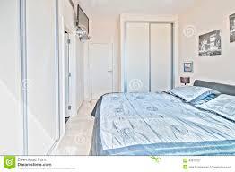 schlafzimmer im landhaus modern stockbild bild