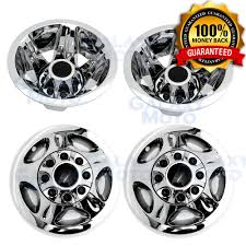 100 Chevy Truck Center Caps 0810 Silverado DUALLY Chrome 17 Wheel Simulator Liner