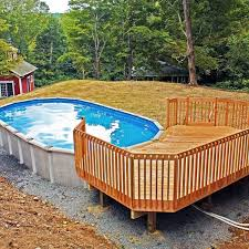 Above Ground Pool Backyard Ideas