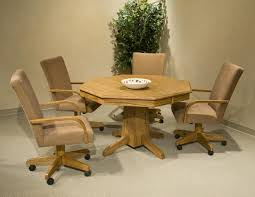 Dining Chairs On Casters New Dining Table Casters Dining