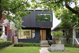 100 Contemporary House Siding Pink Stained Cedar Exterior Conceals A Clean Modern Interior