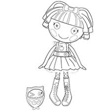 Lalaloopsy Coloring Pages Art Galleries In Books