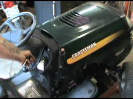 Craftsman Lt1000 Drive Belt Size by Craftsman Lt1000 The Bane Of My Existence Youtube