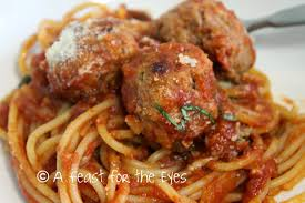 A Feast for the Eyes Meatballs and Marinara Pressure Cooker